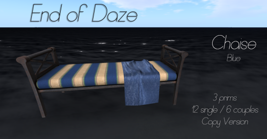 EoD Chaise Blue